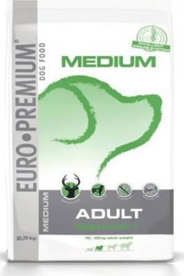 EURO-PREMIUM Medium Adult Digestion+ Hirsch & Reis  2.5 kg, 10 kg