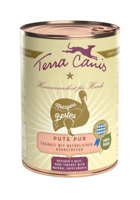 Terra Canis Pure Meat Menu, Pure Turkey  400 g