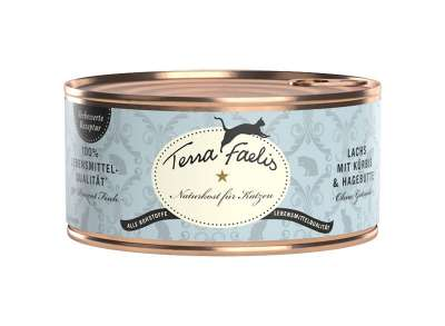 Terra Faelis Salmon with squash and rose hip 100 g, 400 g, 200 g