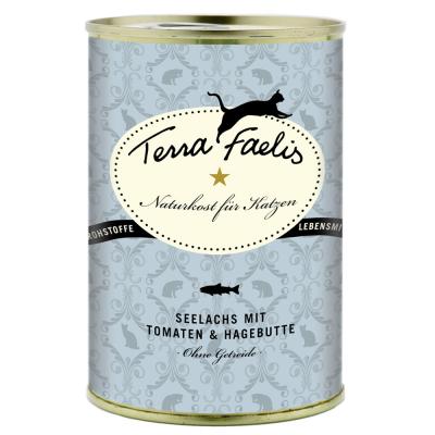 Terra Faelis Seelachs mit Tomate & Hagebutte 100 g, 400 g, 200 g