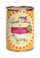 Frühlingsmenü, Lamm mit Frühlingsgemüse, Kräutern & Blütenmix  400 g von Terra Canis Online kaufen