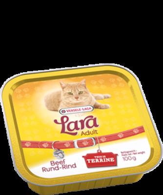 Versele Laga Lara Adult met Rund - Terrine - alu 100 g