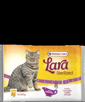 Versele Laga Lara Sterilized met Kip 4x100 g