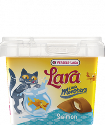 Versele Laga Lara Little Monster Crock with Salmon Lachs 75 g