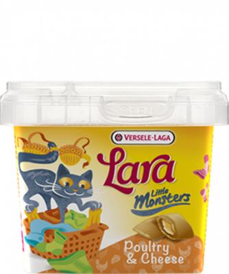 Versele Laga Lara Little Monster Crock with Poultry & Cheese Gevogelte & Kaas 75 g