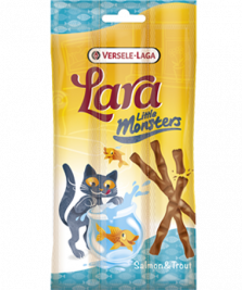 Lara Little Monster Sticks with Salmon & Trout Versele Laga 5410340411896