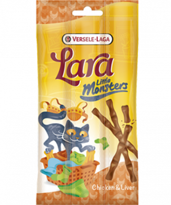 Versele Laga Lara Little Monster Sticks with Chicken & Liver Huhn & Leber 15 g
