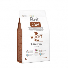 Brit Care Weight Loss kansaa Kani & Riisi 3 kg