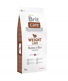 Brit Care Weight Loss kansaa Kani & Riisi  12 kg
