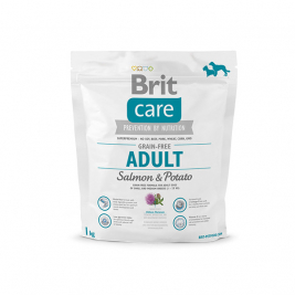 Care Adult Grain-free med Lax och Potatis Brit 8595602510160