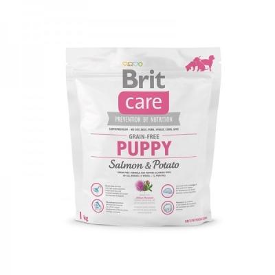 Brit Care Grain-free Puppy Lazac & Burgonyás 1 kg Lazac & Zöldség