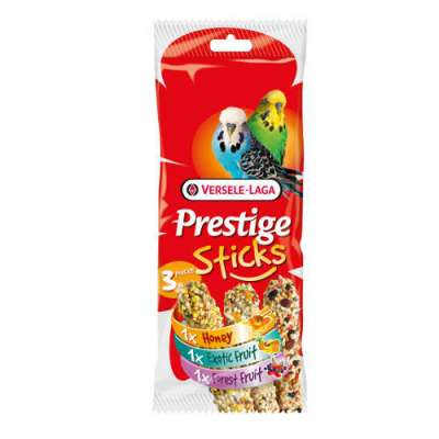 Versele Laga Prestige Sticks Triple Variety  90 g