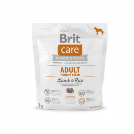 Brit Care Medium Breed Adult med lam og ris  1 kg
