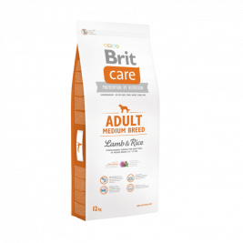 Brit Care Adult Medium Breed med lam og ris 12 kg