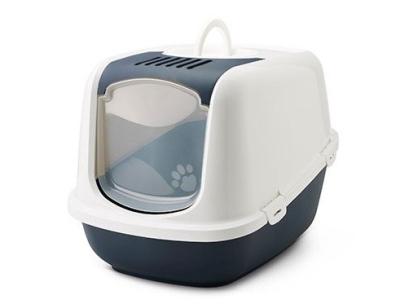 Savic Toilette per gatti Nestor Jumbo XXL Blu scuro 66.5x48.5x46.5 cm