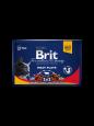 Premium Pouches Meat Plate  4x100 g van Brit