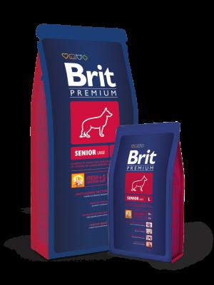 Brit Premium Senior Large  3 kg, 15 kg