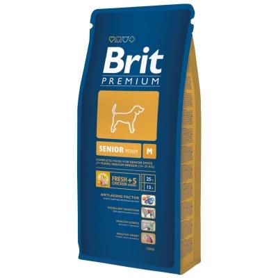 Brit Premium Senior M  15 kg, 3 kg