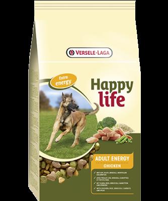 Versele Laga Happy life Adult Energy med Kylling  15 kg