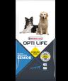 Opti Life Sénior Medium & Maxi 12.5 kg - Ração para cães porte grande