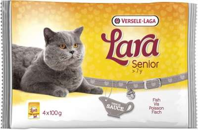 Versele Laga Lara Senior with Fish 4x100 g