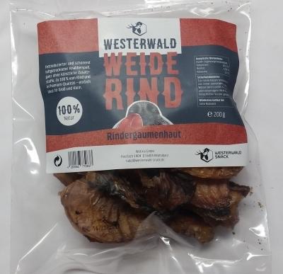 Westerwald-Snack Rindergaumenhaut 200 g Rindfleisch