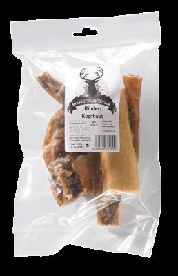 Westerwald-Snack Rinderkopfhaut 200 g Rindfleisch