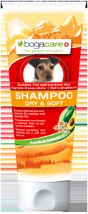 Bogacare Shampoo Dry & Soft Hund 200 ml