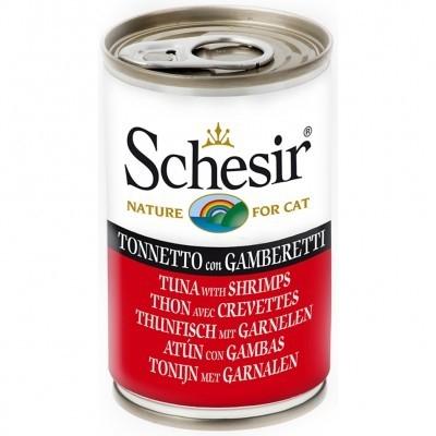 Schesir Tonijn met Garnalen 140 g