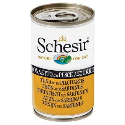 Schesir Tonijn met Sardines 140 g