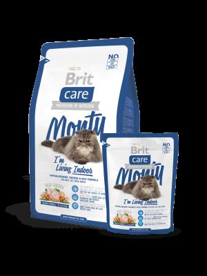 Brit Monty I'm Living Indoor 2 kg, 400 g