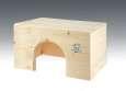 Flat rabbit house Resch Nagerhaus 40x22x30 cm