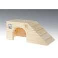 Casa pequeña para conejillo de indias 35x14.5x15.3 cm de Resch Nagerhaus