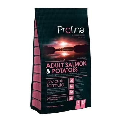 Profine Adult Salmon & Potatoes Hypoallergeeniset  15 kg