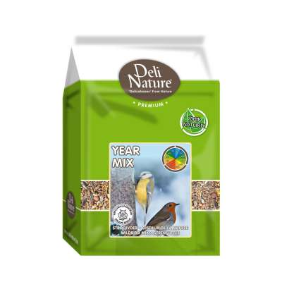 Deli Nature Streufutter Year Mix  4 kg, 20 kg, 1 kg