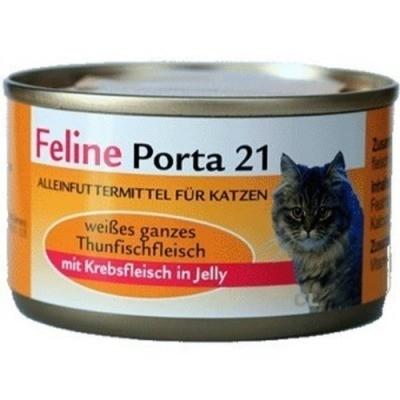 Feline Porta 21 Thunfisch mit Krebsen 90 g, 400 g, 156 g, 24x156 g