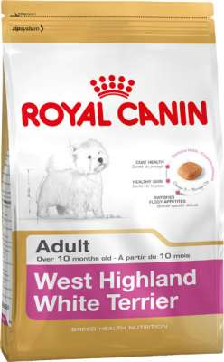 Royal Canin Breed Health Nutrition West Highland White Terrier Adult  500 g, 3 kg, 1.5 kg