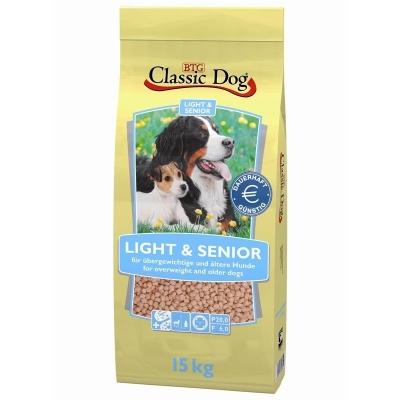 Classic Dog Light & Senior  15 kg