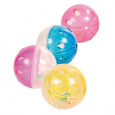 Trixie Set of Rattling Balls, Plastic 4.5 cm