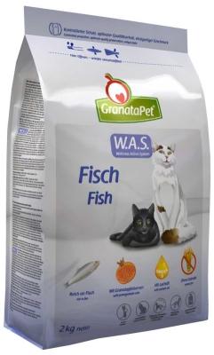 GranataPet W.A.S. Katze Trockenfutter Fisch Adult 400 g, 2 kg, 10 kg