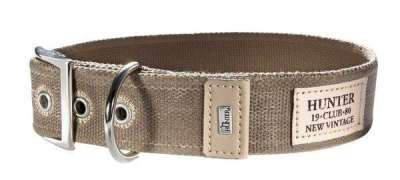 Hunter Collar New Orleans Taupe 35-45x3.8 cm