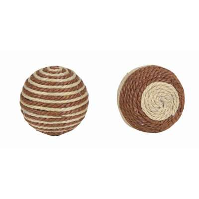 Trixie Assortment Rattling Balls Brown 4.5 cm