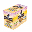 Hill's Ideal Balance Feline Multipack Adult with Chicken & Turkey & Trout & Salmon 12x85 g goedkoop