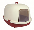 Trixie Primo XL Litter Tray, with Dome  Wine red