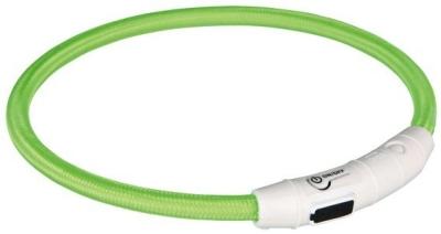 Trixie Lysende Bånd USB Neongrønn L-XL