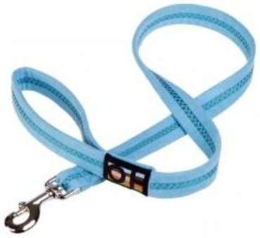 "Oscar & Hooch Leash ""Ocean Breeze"" Grå-blå 100x2.5 cm"