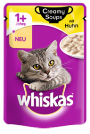 Whiskas Creamy Soups with Chicken in sauce  85 g
