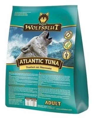 Wolfsblut Atlantic Tuna Adult met Tonijn en Zeesla  15 kg, 2 kg, 500 g
