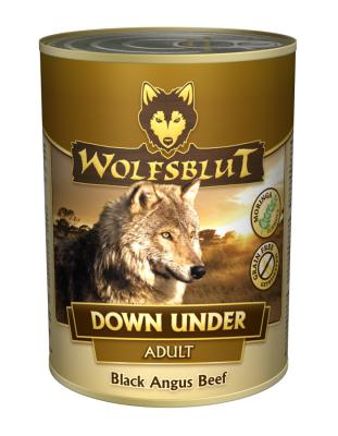 Wolfsblut Down Under Adult Blik Zwarte Angus Rund  800 g, 395 g