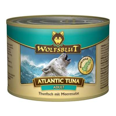 Wolfsblut Can Atlantic Tuna Adult with Tuna and Sea lettuce  800 g, 200 g